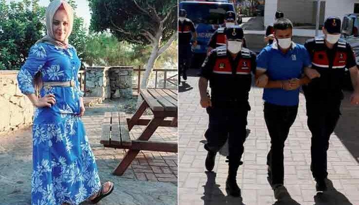Eşini boğarak öldürüp kepçeyle gömen koca tutuklandı