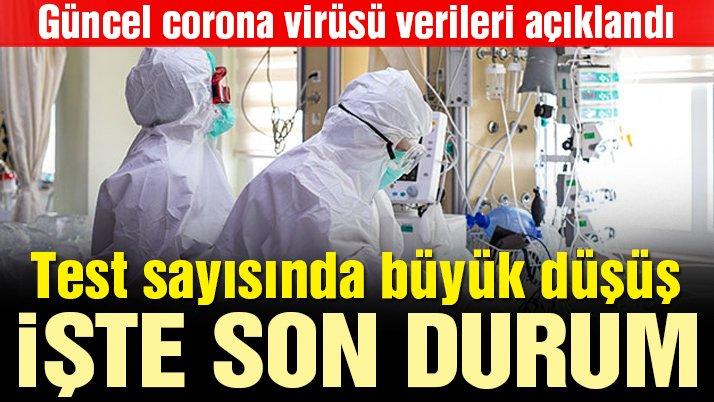 Sağlık Bakanlığı güncel corona virüsü verilerini açıkladı! İşte 1 Mayıs tablosu