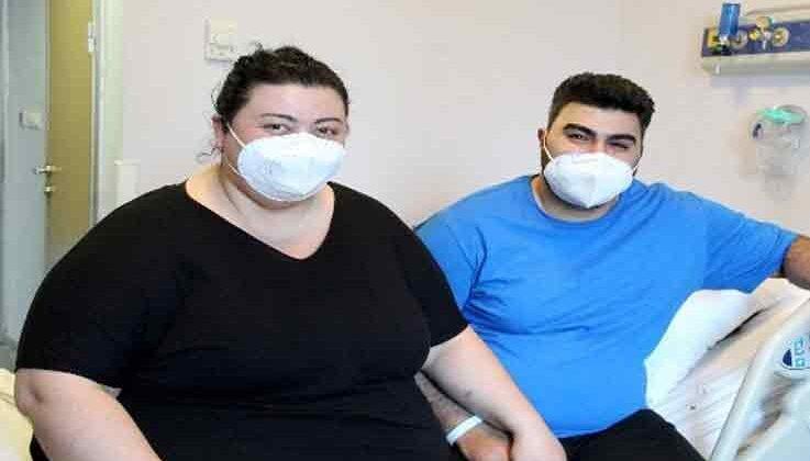 Toplam ağırlıkları 300 kilograma yaklaşan gurbetçi obez çift, bebek hayallerini Antalya'da gerçekleştirecek