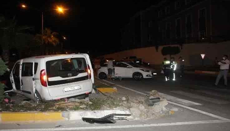 Kırmızı ışık ihlali kazayla sonuçlandı: 6 yaralı