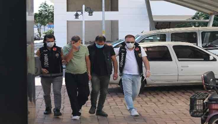 Alanya'da polisten uyuşturucu baskını: 4 gözaltı