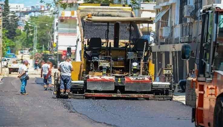 Muratpaşa'da 22 cadde ve sokak sıfır asfalta kaplanacak