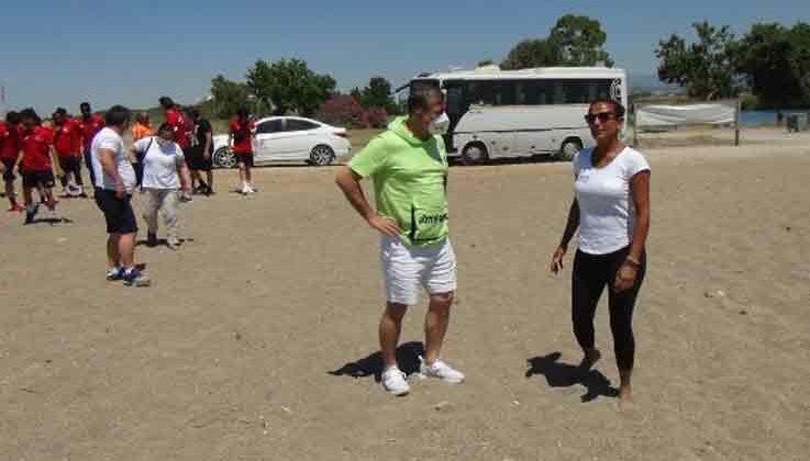 Tanju Çolak'tan carettalara destek