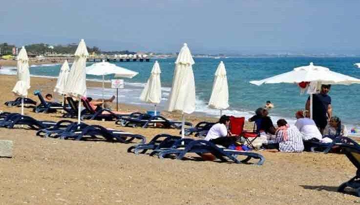 Manavgat'ta plajlar ve mesire alanları faaliyete başladı