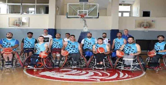 ASAT Tekerlekli Sandalye Basketbol Takımı şampiyonasına hazır