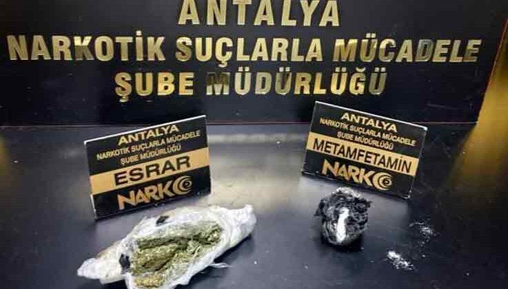 Uyuşturucu operasyonuna 1 tutuklama