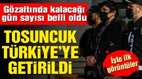 Çiftlik Bank'ın kurucusu Tosuncuk Mehmet Aydın Türkiye'ye getirildi