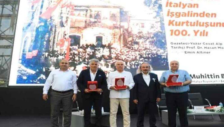 Antalya'nın İtalyan işgalinden kurtuluşu anlatıldı