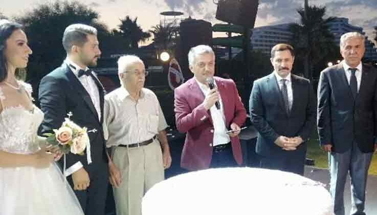 DTO Antalya Şube Başkanı Ahmet Çetin'in mutlu günü