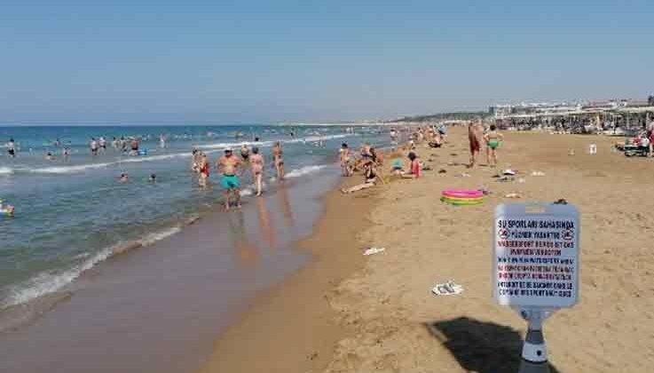 Antalya'da 15 yaşındaki çocuk denizde kayboldu