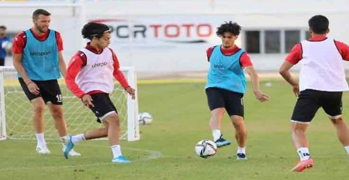 Alanyaspor hazırlık maçında Polessya'ya 1-0 mağlup oldu
