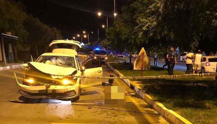 Otomobil ile elektrikli bisiklet çarpıştı: 2 genç hayatını kaybetti