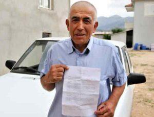 Antalyalı çiftçiye hiç gitmediği İstanbul'dan 20 farklı trafik cezası geldi