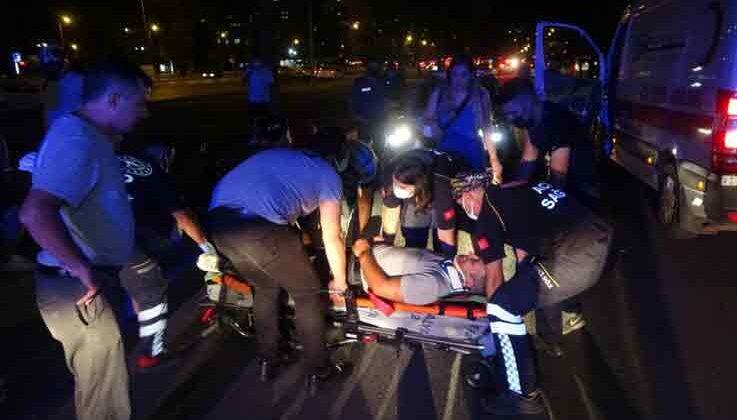 Antalya'da görüp durduğu kazada yaralının ağabeyinin olduğunu fark etti