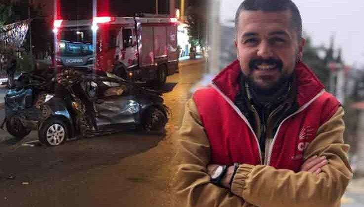 CHP Konyaaltı Gençlik Kolları Başkanı trafik kazasında hayatını kaybetti