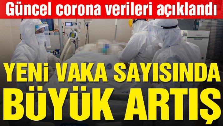15 Temmuz corona virüsü tablosu açıklandı: Vaka sayısında büyük artış