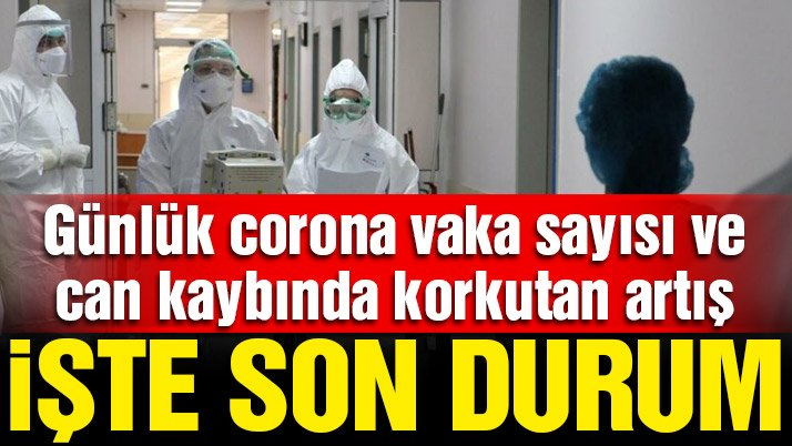 18 Temmuz güncel corona virüsü tablosu açıklandı: Korkutan artış sürüyor