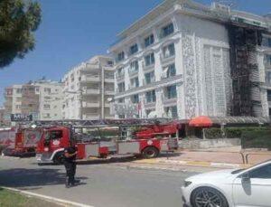 5 yıldızlı otelde yangın çıktı, müşteriler tahliye edildi