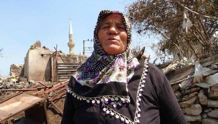 Evi ve kanser tedavisi için biriktirdiği parası yanan Cemile Teyze'ye Hollanda'daki Türklerden 15 bin TL