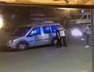 Alanya'da pompalı tüfekle saldırı güvenlik kamerasında